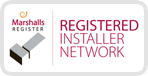 Marshalls Registered Installer